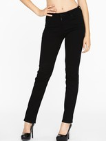 Not Your Daughter's Jeans Classic Straight Leg Jeans - Black