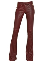 Emilio Pucci - Flared Nappa Leather Trousers