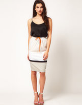 ASOS Sporty Skirt in Pencil Shape