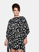 Coleen Square Kimono Dress