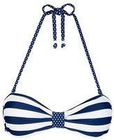 stripe bandeau bikini-marie