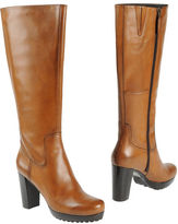 womens tan heeled boots-bruno premi highheeled boots