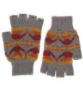 fingerless gloves mengrey bold aztec knitted fingerless gloves Debenhams Scarves Mens