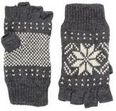 fingerless gloves mengrey fairisle knitted fingerless gloves Debenhams Scarves Mens