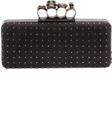 religion clutch bags-religion knuckle duster stud clutch